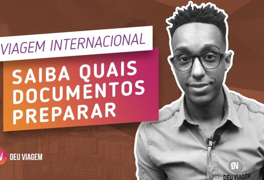 Documentação Viagem Internacional