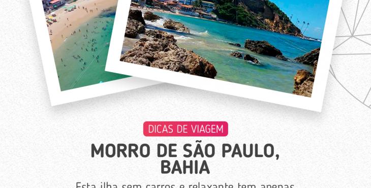 Morro de São Paulo uma ilha sem carros