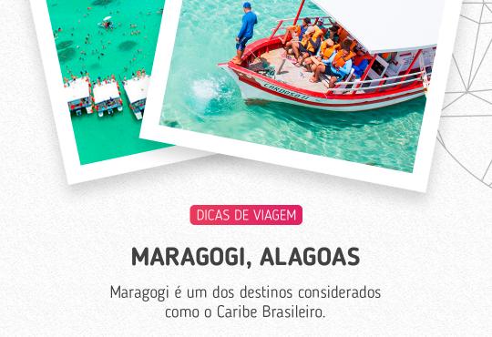 Maragogi é um dos destinos considerados como o Caribe Brasileiro
