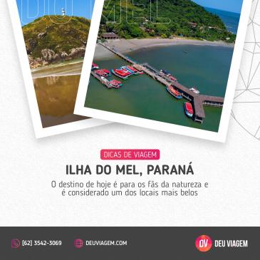 Uma Ilha do Mel Paraná